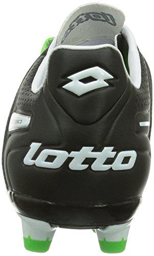 Lotto Sport STADIO POTENZA V 200 FG, Herren Fußballschuhe, Mehrfarbig (WHITE/FL MINT), 42 EU (8 Herren UK) - 2