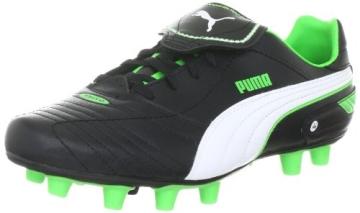 Puma Esito Finale i FG 102008, Herren Sportschuhe - Fußball, Schwarz (black-white-fluro green 06), EU 40.5 (UK 7) (US 8) - 1