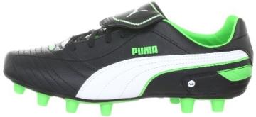 Puma Esito Finale i FG 102008, Herren Sportschuhe - Fußball, Schwarz (black-white-fluro green 06), EU 40.5 (UK 7) (US 8) - 5