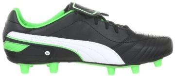 Puma Esito Finale i FG 102008, Herren Sportschuhe - Fußball, Schwarz (black-white-fluro green 06), EU 40.5 (UK 7) (US 8) - 6