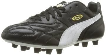 Puma King Top di FG, Herren Fußballschuhe, Schwarz (black-white-team gold 01), 41 EU (7.5 Herren UK) - 1