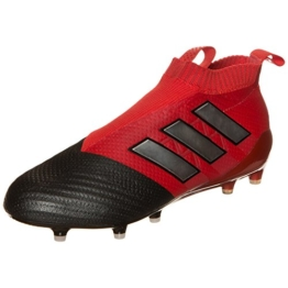 adidas ACE 17+ Purecontrol Red Limit FG Fußballschuh Herren 8.5 UK - 42.2/3 EU -