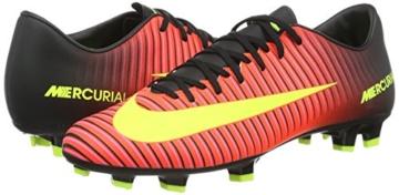 Nike Herren Mercurial Victory Vi Fg Fussballschuhe Pink Rosa Rot Gelb Schwarz Pink 42 5 Eu