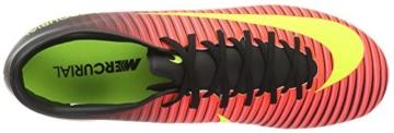 Nike Herren Mercurial Victory VI FG Fußballschuhe, Pink (Rosa-Rot/Gelb/Schwarz/Pink), 42.5 EU -